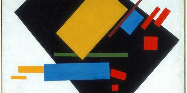 Malevich-Black Trapezium-and-Red Square
