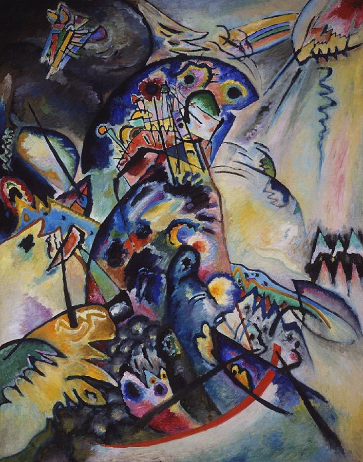 Wassily Kandinsky, Blue Crest, 1917